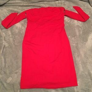 Strapless dress size medium